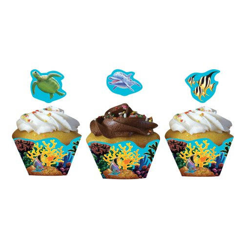 Ocean Fun Party Cupcake Wrappers and Picks hier kaufen