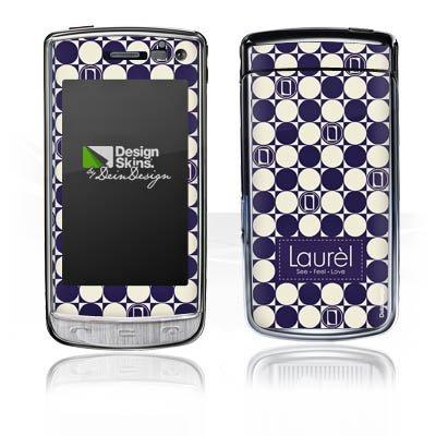 LG GD900 Crystal Aufkleber Schutz Folie Design Sticker Skin Laurèl Talking Logomania Laurel Crystal Laurel