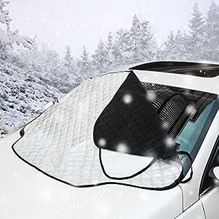 AllRight Autoscheibenabdeckung Frontscheibenabdeckung Sonnenschutz Scheibenabdeckung Auto Windschutzscheibe Sonnenschutz UV-Schutz Abdeckung Sonnenblende Frontscheibe Frostabdeckung (L 142 * 92CM)