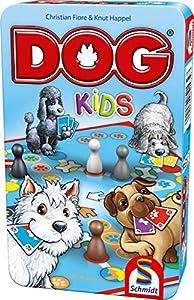 Schmidt Spiele- Dog Kids, Bring Mich mit Spiel in Der Metalldose, Color carbón (51432)