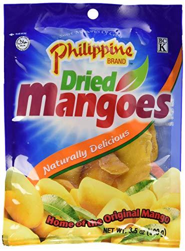 PHILIPPINE BRAND Süßwaren Mango getrocknet, 5er Pack (5 x 100 g)