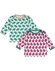 loud + proud Unisex Baby Sweatshirt Doppelpack, 2er Pack
