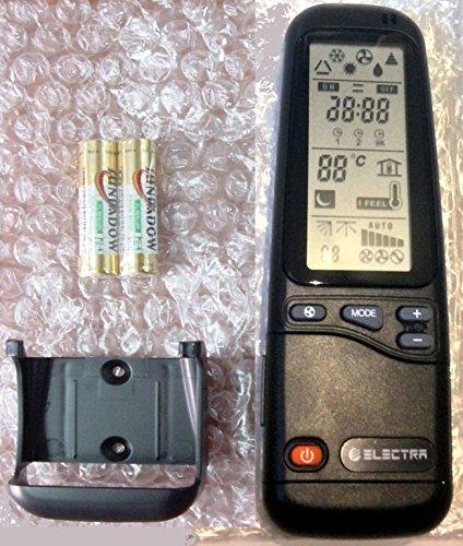 Telecomando per condizionatori Electra e Ariwell RC-A, ricambio universale per tutti i modelli Electra Airwell Emailair aria condizionata, climatizzatore, pompa di calore RC-3, RC-4, RC-7, RC-8 ecc.