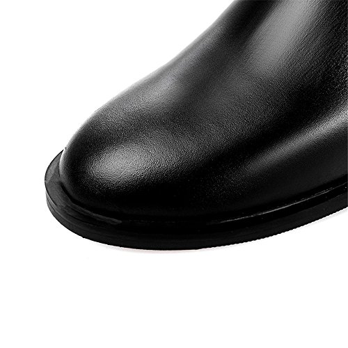 Stivali boots Black high SevenKnee donna Nine 6FUnqYAwFW