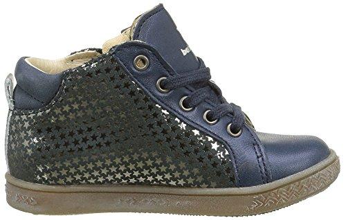 Babybotte Adrenaline, Chaussures Lacées Fille Bleu (233 Marine Imp Etoiles)
