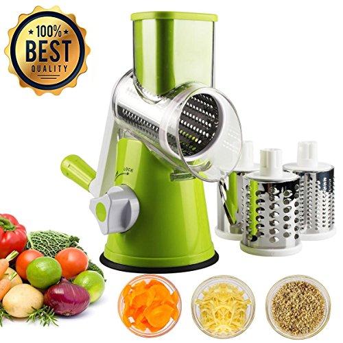 YIY Mandolina slicer Cortador de Verduras Frutas en Espiral Multifuncional,Cortador de verduras...