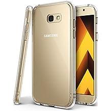 Funda Galaxy A5 2017, Ringke [FUSION] Protector de TPU con Parte Posterior Transparente de PC Carcasa Protectora Biselada para Samsung Galaxy A5 2017 - Transparente Clear
