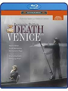 Britten: Death In Venice [Bruno Bartoletti, Pier Luigi Pizzi, Marlin Miller] [Dynamic: 55608] [Blu-ray]