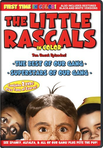The Little Rascals 2-pack - All of the Shorts are Now In COLOR! Also Includes the Original Black-and-White Versions which have been Beautifully Restored and Enhanced! by Spanky McFarland (Spanky Shorts)