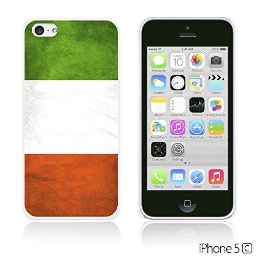 OBiDi - Flag Pattern Hard Back Case / Housse pour Apple iPhone 5C - Germany Italy