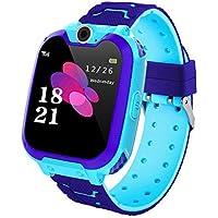 Smartwatch per Bambini, Zeerkeer Gioco Musicale SOS Smartwatch per Bambini con Lettore Musicale/Slot per Schede SIM…