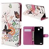 jbTec® Flip Case Handy-Hülle zu Huawei GR3 / Enjoy 5s /