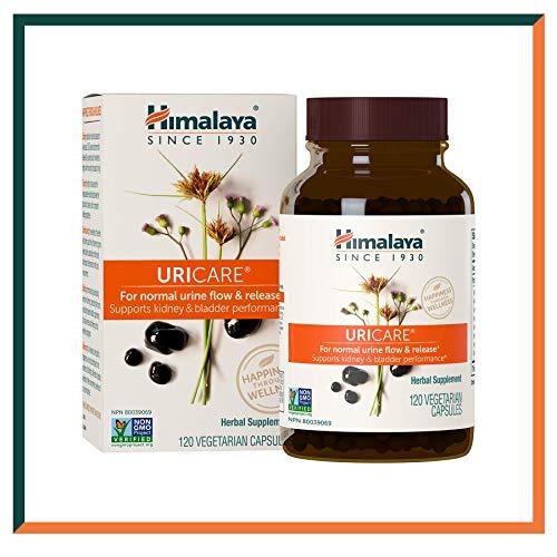 Himalaya UriCare - Integratori erboristichi senza caffeina per Supplemento per l'infezione del tratto urinario e il cistite - Supporta il trattamento del tratto urinario - 840 mg