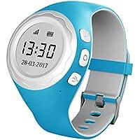 Pingonaut Kidswatch – Kinder GPS Telefon-Uhr, SOS Smartwatch mit Ortung, Tracker & Phone - Tracking App, Deutsche Software