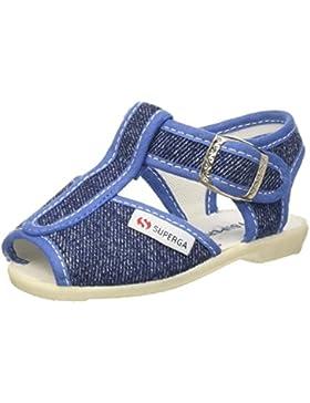 Superga 1200-cotj - Zapatos con Correa Unisex Niños