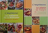 Weight Watchers, Le plaisir de maigrir + Les saisons de la Minceur (2 Livres)...