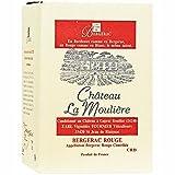 Chateau La Mouliere 2017 A.O.C. Bergerac trockener Rotwein aus Frankreich Bag-in-Box Winzerwein (1 x 5,0l)
