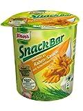 Knorr Snack Bar Nudeln in Rahm-Sauce mit Schnittlauch, 8er Pack (8 x 69 g)