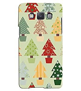 Citydreamz Colorful trees Hard Polycarbonate Designer Back Case Cover For Samsung Galaxy Grand Prime G530H/G531H