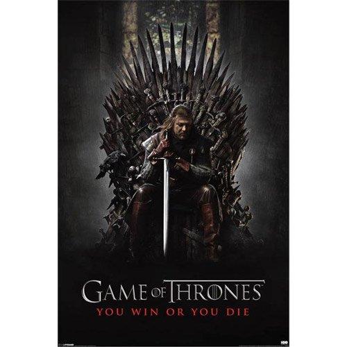 Game Of Thrones Juego de Tronos ganas o mueres Póster