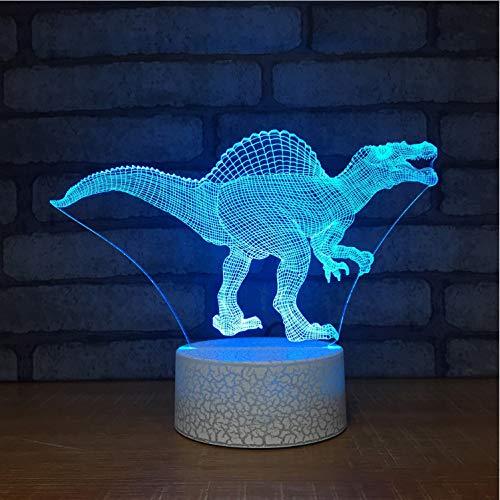 Creativo 3D Lampada Da Scrivania A Led Visiva Colonna usato  Spedito ovunque in Italia