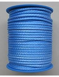 Dyneema Flechtschnur Durchmesser 2.5mm - 25 Meter Fb. blau