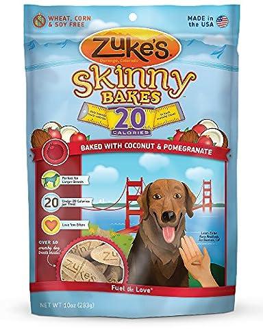 Zukes Skinny Bakes Pumpkin Sweet Potato Flavor Recipe Yummy Dog Snack Treat 10z