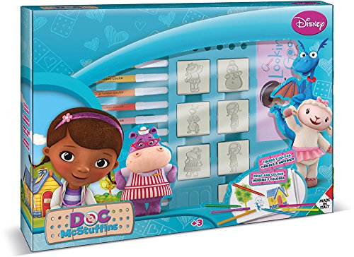 Multiprint Doc Mc Stuffins Big Box Stempel Set - Mac Print Die Shop Für 3