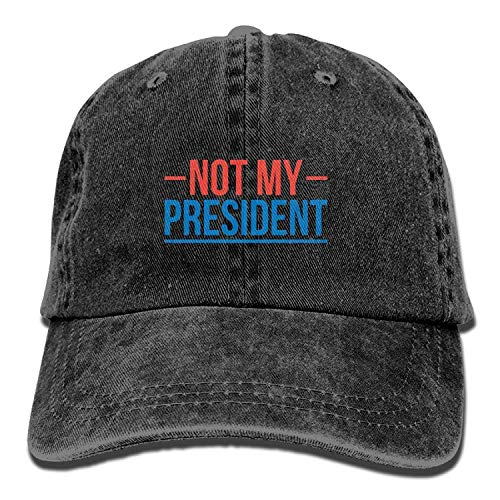 Hipiyoled Not My President Mens&Womens Vintage Style Fashion Trucker Hat Baseball Cap 5Z776 -