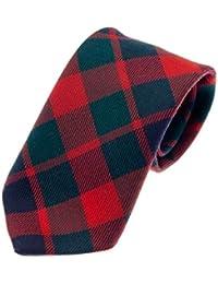 100% Reiver Gow Modern Clan Tie & Gift Wrap - Made in Scotland by Lochcarron