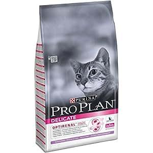 Pro Plan Katzenfutter Delicate with Optirenal Rich in Turkey - 10 kg