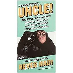 """Hallmark Geburtstagskarte für Onkel """"Monkey""""–mittelgroß"""