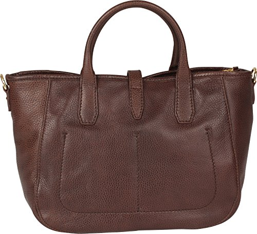 The Bridge Plume Soft Donna Shopper cuir 31 cm nero-goldfarben