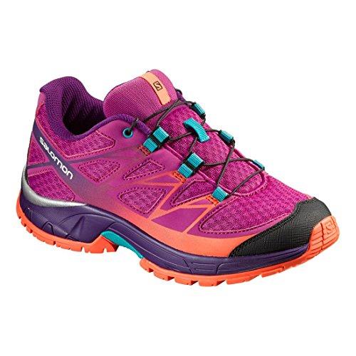 Salomon Jungen L39055900 Trail Runnins Sneakers lila , viola
