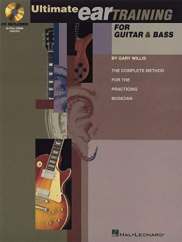 Ultimate eartraining for guitar and bass guitare+CD