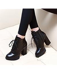 GTVERNH-scarpe scarpe di cuoio comodi corrisponde tutto scuola del vento black 39