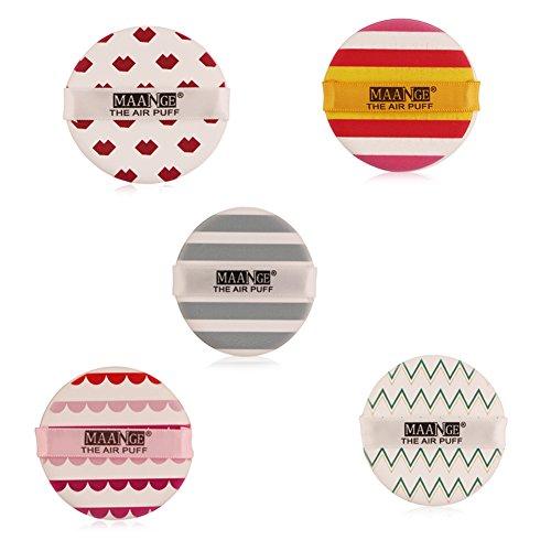 ROMANTIC BEAR Coussin D'air De Fleur Puff BB Crème Applicateur Eponge Puff Maquillage Outil (A06*A07*A08*A09*A10)