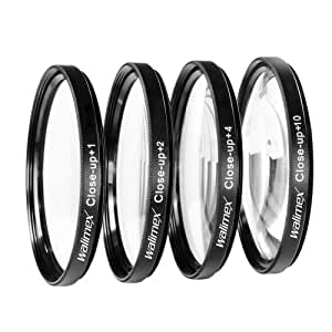 Walimex Close up Makrolinsen-Set 58 mm inkl. +1/+2/+4/+10 Dioptrien