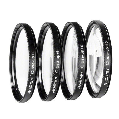 Walimex Close up Makrolinsen-Set 58 mm inkl. +1/+2/+4/+10 Dioptrien (Linse Dioptrien)