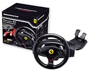 Thrustmaster - Ferrari GT Experience Racing Wheel - Volant pour PS3 / PC