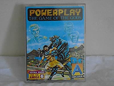 Powerplay The Game of The Gods - Astra Pack 6 - Commodore Amiga from Arcana