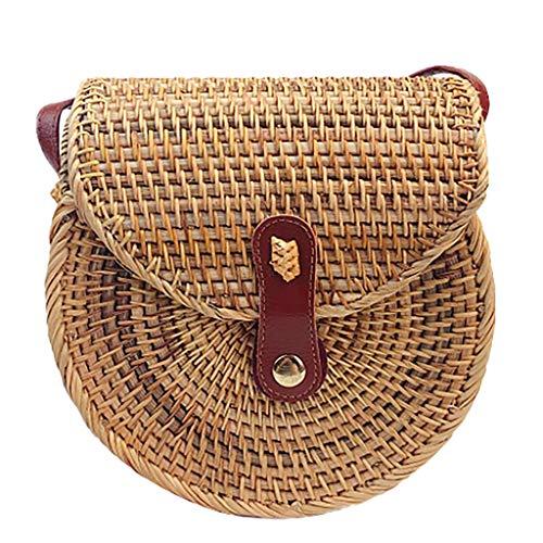 OIKAY Mode Damen Tasche Handtasche Schultertasche Umhängetasche Mode Neue Handtasche Frauen Umhängetasche Schultertasche Strand Elegant Tasche Mädchen 0605@073