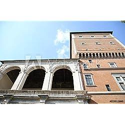 druck-shop24 Wunschmotiv: Basilica di San Marco Evangelista al Campidoglio #223015840 - Bild als Klebe-Folie - 3:2-60 x 40 cm / 40 x 60 cm