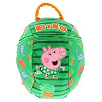 Peppa Pig Backpack With Reins Bags & Accessories Synthetic Material Kids Bags Green/Assorted