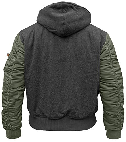 Alpha Industries MA-1 D-Tec Wool Fliegerjacke - 2