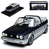 alles-meine GmbH Volkwagen Golf I Cabrio Bel Air Blau Metallic 1979-1993 1/18 Norev Modell Auto