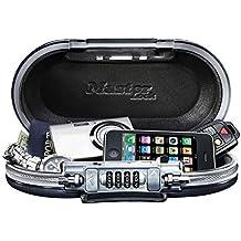 Master Lock 5900d portátil SafeSpace seguro, Gunmetal Gris Color: gris, Modelo: 5900d, herramientas y Ferretería