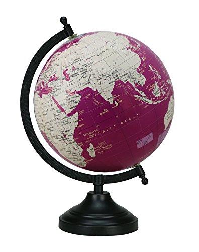 Escritorio-Mediano-GlobeRotating-Mundial-de-la-Tierra-Mar-vector-de-la-decoracin-Globos-de-135