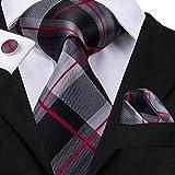 Hi-Tie - Cravate - Homme - Gris - Taille Unique