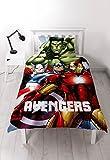 """Character World Disney 1"""" Marvel Avengers Shield GID Parure de lit Multicolore"""